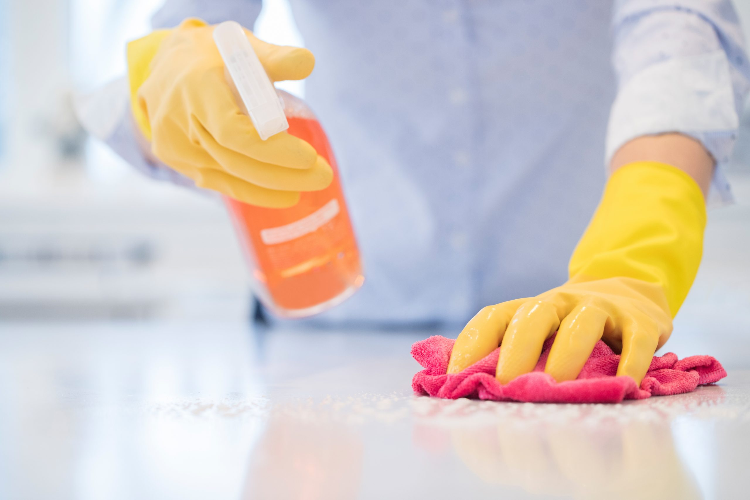 How to Clean and Disinfect Your Apartment